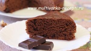 Шоколадный пирог на пиве в мультиварке