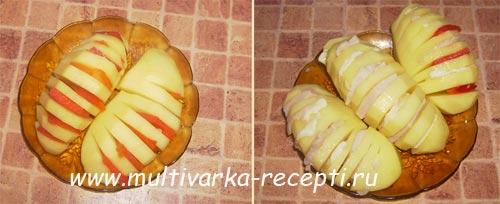 картошка-гармошка-рецепт