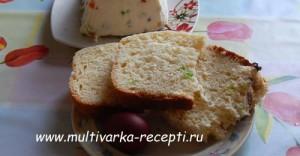 """Пасхальный кулич """"Семейный"""" в мультиварке Редмонд"""