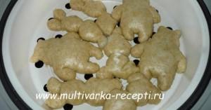 Печенье  на пару в мультиварке