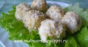 рыбный салат рафаэлло