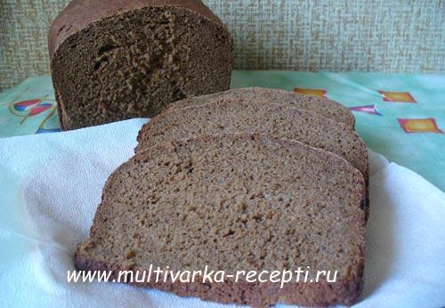 заварной ржаной хлеб в хлебопечке