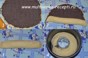 Пирог (рулет) с маком в мультиварке