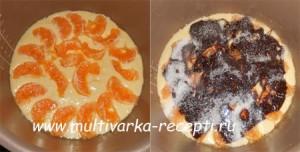 Пирог с фруктами в мультиварке-скороварке