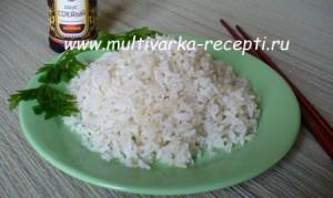 Рис на пару в мультиварке