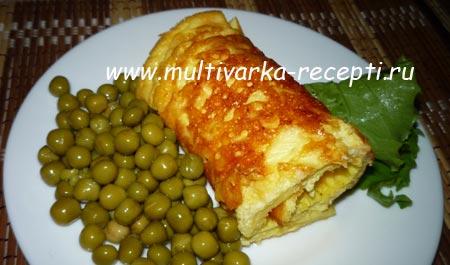 omlet-s-syrom-v-multivarke
