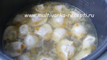 sup s pelmenyami v multivarke 2