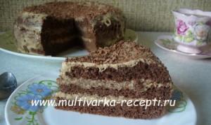 Безглютеновый торт в мультиварке