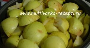 Яблочное пюре в мультиварке