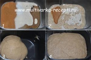 Хлеб на сухом квасе в хлебопечке