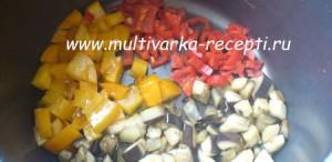 Кускус с овощами в мультиварке
