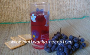 Компот из винограда в мультиварке