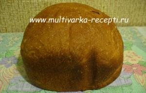 Хлеб с ржаными отрубями на квасе в хлебопечке