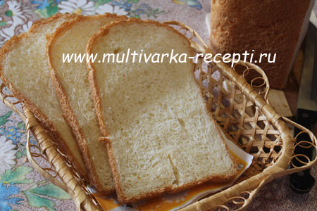 хлеб на кефире в хлебопечке 4