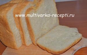 Хлеб на кефире с манкой в хлебопечке
