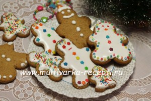 Имбирное печенье «Человечки»