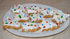 Новогоднее печенье «Ёлочка»