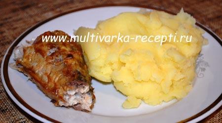 рецепт запекания рыбы в духовки в рукаве
