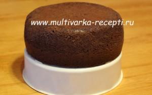 Классический бисквит с какао в мультиварке