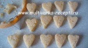 Бисквитные пирожные «Валентинка»