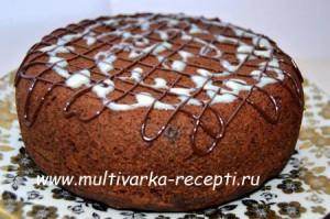 Шоколадный манник в мультиварке