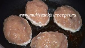 Зразы мясные с грибами
