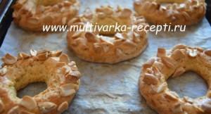 Печенье «Ореховые кольца»