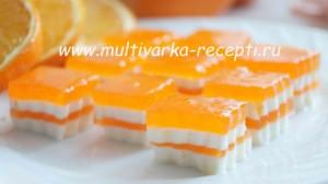 рецепт творожной массы с мармеладом и желатином