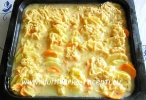 Рецепт картофельной запеканки в духовке