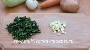 Овощной суп в мультиварке