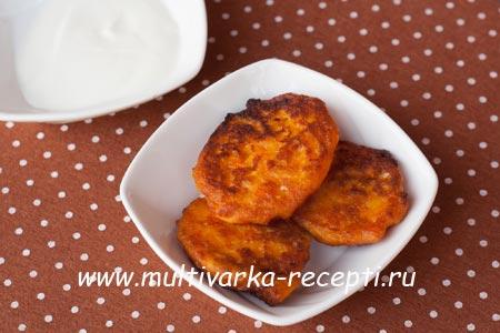 рецепт оладья из кабачков на кефире