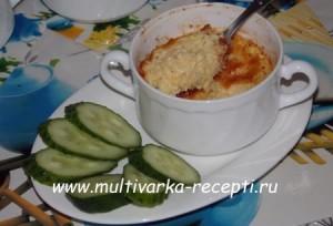 Суфле из кабачков