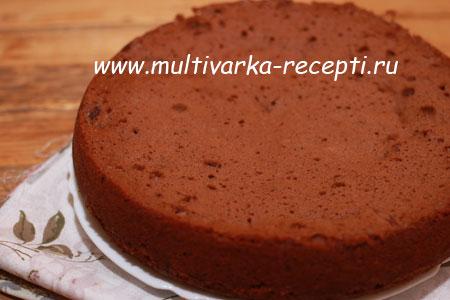 Как приготовить шоколадный пирог с вишней в мультиварке