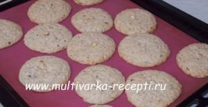 Ореховое печенье (на крахмале)