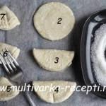 Печенье из творога «Гусиные лапки»