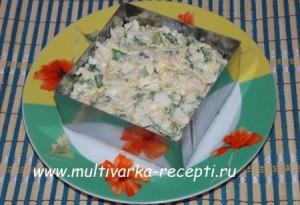 Салат из зелёного лука