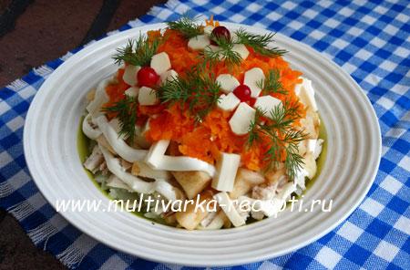salat-s-yablokami-i-kuricej