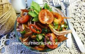 Салат из свиных ушей «Гурман»