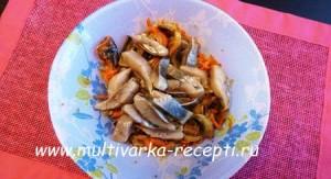 Салат с селедкой и грибами –  литовская закуска «Силькие су свугунайс»