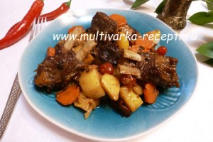 Цимес — рецепт с мясом и картофелем