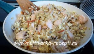Кеджери — рецепт из рыбы, риса и яиц