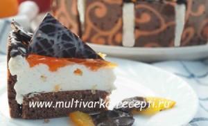 Торт «Апельсин и Шоколад»