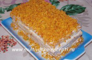 Морковный торт в духовке
