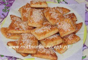Сконы картофельно-сырные с кунжутом