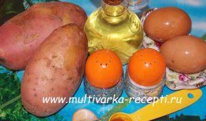 Картошка на скорую руку