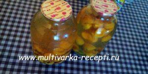 Компот из абрикосов на зиму без стерилизации