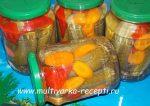 Огурцы с морковью на зиму