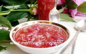 рецепт варенья из пионов