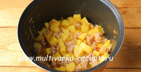 Готовим картошку в мультиваркеы
