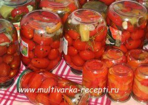 Сладкие помидоры на зиму без стерилизации